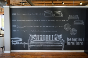 Chalk artist for hire, mural art, custom mural artist.