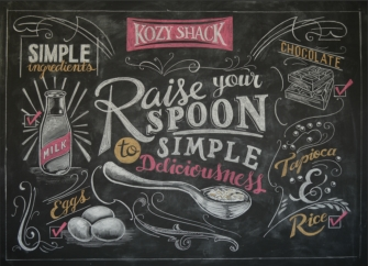 Chalk Artist CJ Hughes - Available for chalkboard artwork commissions of all kinds