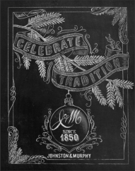 chalkboard art for magazine, rachael ray chalk art - chalk designer CJ Hughes