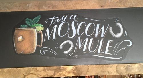 Chalk Artist CJ Hughes - Professional Chalk Lettering for print, video and murals.